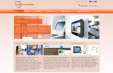 hartikari website redesign