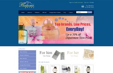 Perfume home website